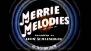 Merrie Melodies Openings And Closings (1931-1969) UPGRADED 2.0