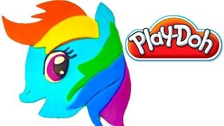Playdoh My Little Pony playdo by lababymusica