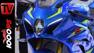 getlinkyoutube.com-New Suzuki GSX-R 1000 2016 -  First Look