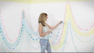getlinkyoutube.com-Craft corner: How to make a paper garland