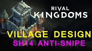 getlinkyoutube.com-Rival Kingdoms: Stronghold level 14 Layout - Anti-Dragon Snipe