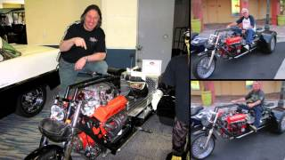 getlinkyoutube.com-V8 Chevy Trike - The Build Video