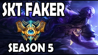 getlinkyoutube.com-SKT T1 Faker Ryze vs Orianna MID Ranked Challenger Korea