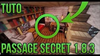getlinkyoutube.com-PASSAGE SECRET 1.8.3 FACILE!   Minecraft