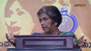 Chandrika says war affected northern women not taken care like soldier families