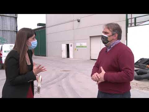 REBI SLU: Televisión Aranda conoce las instalaciones de Red de Calor de Aranda a través de la central térmica
