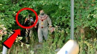getlinkyoutube.com-Top 10 SCARIEST Clown Sightings Caught on Video (Scary Clown Videos)