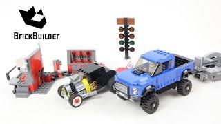 getlinkyoutube.com-Lego Speed Champions 75875 Ford F-150 Raptor & Ford Model A Hot Rod - Lego Speed build