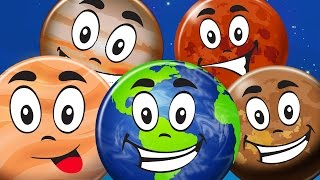 getlinkyoutube.com-Planet Song l We Are the Planets Song l Rhyme l Kids Rhyme on Planet