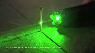getlinkyoutube.com-Мощная зеленая лазерная указка 1000мВт
