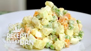 getlinkyoutube.com-Francuska salata - video recept