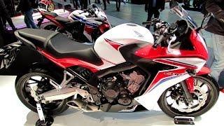 getlinkyoutube.com-2014 Honda CBR650F Walkaround - 2013 EICMA Milan Motorcycle Exibition