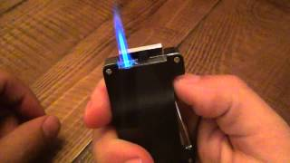 getlinkyoutube.com-Lighter Review : The Bugatti B-1 (With Duel Punch Cutters)