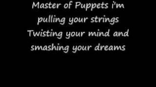 getlinkyoutube.com-Master of Puppets Lyrics By Metallica