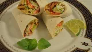 getlinkyoutube.com-Chicken wraps