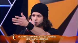 """getlinkyoutube.com-Marcelo Carvalho dubla personagens do """"Street Fighter"""" no """"Legendários"""""""