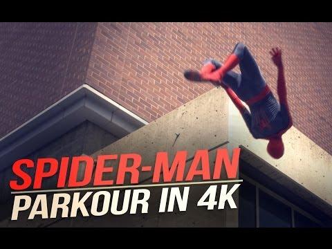 The Amazing Spider-Man Parkour @RonnieShalvis