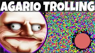AGARIO Funny Moments | Trolling People In Agar.io #8