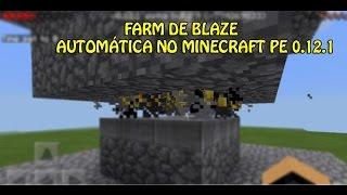 getlinkyoutube.com-COMO FAZER UMA FARM DE BLAZE AUTOMÁTICA NO MINECRAFT PE 0.12.1