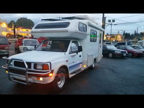 FOR SALE: 1990 year Isuzu Rodeo Motorhome 4X4 turbo diesel 4JB1-T