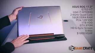 """ASUS ROG G752 17.3"""" Skylake Gaming Laptop: Flash Review"""