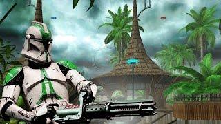 getlinkyoutube.com-Star Wars Battlefront 2 Mods Kothlis Sea Haven - Battlefront Extreme Mod - Clone Wars - Gameplay