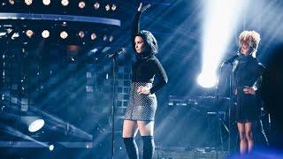 getlinkyoutube.com-Demi Lovato - Confident (Live on Swedish Idol) - TV4