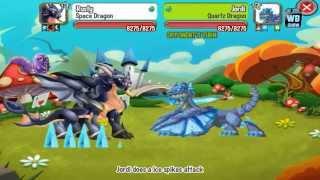 getlinkyoutube.com-Dragon City: Wonder Island Battle Dragons/Weakness