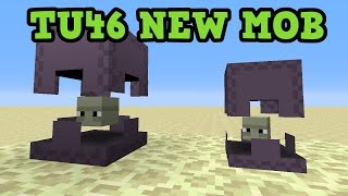 getlinkyoutube.com-Minecraft Xbox One / PS4 NEW MOB in TU46 - Shulkers Preview