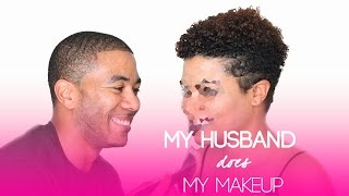 getlinkyoutube.com-Husband Does My Makeup