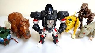 getlinkyoutube.com-イボンコ☆ペッタンコw ビーストウォーズ  コンボイ レビュー  LC-02  Beast Wars Optimus Primal review