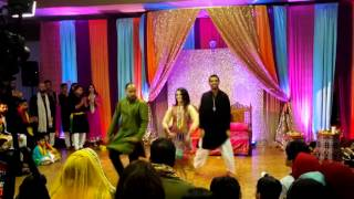 getlinkyoutube.com-Shakar Wandaan Re Mendhi Dance