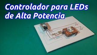 getlinkyoutube.com-Controlador o Driver para LED de alta potencia