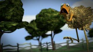 getlinkyoutube.com-Der frühe Wurm fängt den Vogel - The early worm catches the bird, 3d animation short