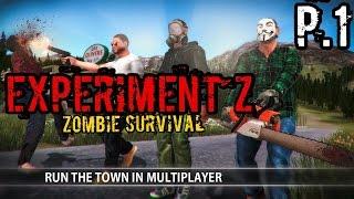 getlinkyoutube.com-Experiment Z - Zombie Survival P.1   เกมพึ่งมา มีโปรแล้วหรอ?