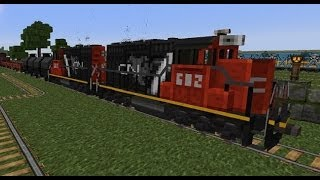 getlinkyoutube.com-Minecraft Trains Mod - Version II