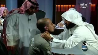 getlinkyoutube.com-#MBC8PM مراسل الثامنة يتعرض للخنق من أحد الرقاة
