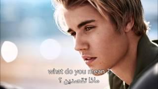 getlinkyoutube.com-ترجمة اغنية جستن بيبر what do you mean Arabic translation