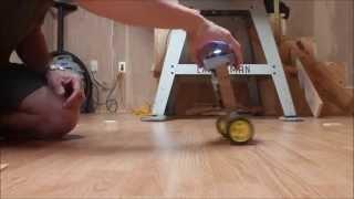 getlinkyoutube.com-Arduino/MPU6050 Balance Bot