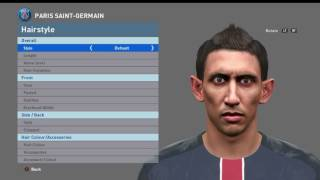 Face Ángel Di María PES 2016 By Boulbaba Facemaker
