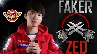 getlinkyoutube.com-Best of Faker - Zed Highlights | League of Legends