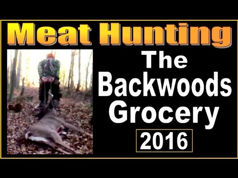 MEAT HUNTING.  A Family Tradition At The Homestead.