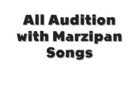 Auditions With Marzipan de Marzipan Letra y Video