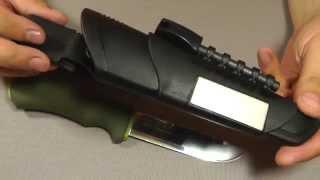 getlinkyoutube.com-Нож Morakniv Bushcraft Survival. Выжить недорого!