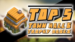 getlinkyoutube.com-Clash of Clans - Top 5 Town Hall 6 Trophy / Hybrid Bases