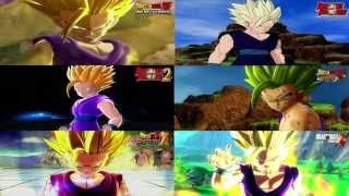getlinkyoutube.com-SSJ2 TEEN GOHAN FACE Comparison Dragon Ball XENOVERSE - DBZ Burst Limit