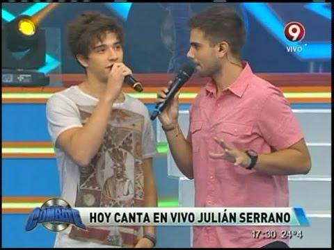 Hoy canta en vivo Julian Serrano en Combate