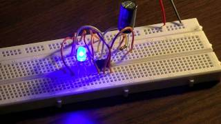 getlinkyoutube.com-How to Make a Pulsing/Fading LED Circuit