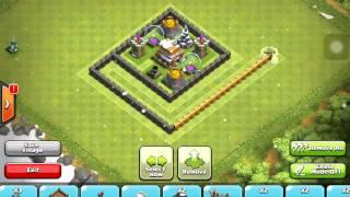 getlinkyoutube.com-Clash Of Clans (Town Hall Lvl. 5) كلاش اوف كلانس ترتيب القرية للمبنى الرئيسي لفل 5
