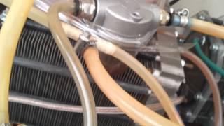 Бытовой электролизер на чистой воде.